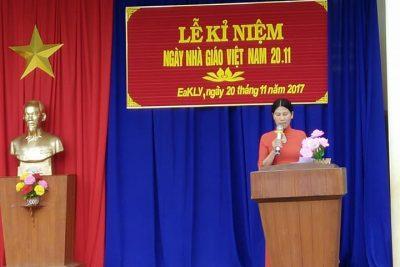 Một số hình ảnh Lễ kỉ niệm ngày nhà giáo Việt Nam 20/11/2017 của trường TH hoàng Hoa Thám
